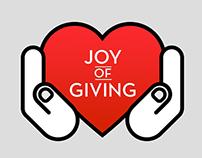 Joy of Giving Week [Design for CISB]