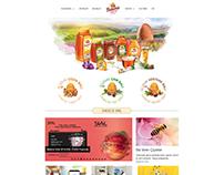 Balarısı Bal için Hazırladığımız Kurumsal Web Sitesi