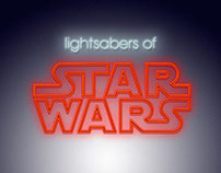 Lightsabers of Star Wars