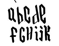 Blackletter Typography