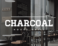 Charcoal House Grill - Collateral Design