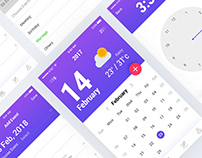 Calender Mobile App