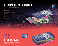 6 impressive banners for my future project