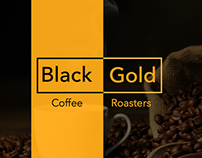 Black Gold Coffee Roasters Redesign
