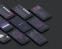 Job Search App UI/UX Design