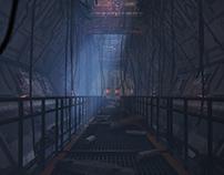Corridor abandoned