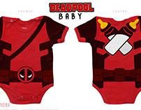 DEADPOOL baby- estampa Body
