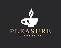 Pleasure Coffe Logo