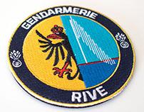 Geneva police badge (Rive)