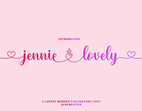 FREE | Jennie Lovely Script
