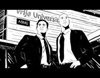 Zwart-wit tekeningen Fontys