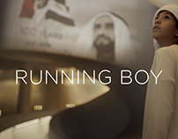 Etihad Airways: Running Boy