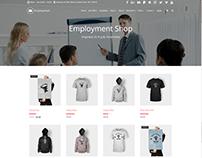 Shop Wide Page - Employment WordPress Theme