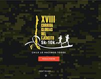 Sitio Web Corrida Ejército 2015