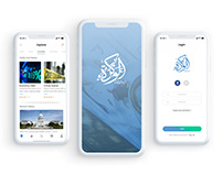 Alwakra News App UI/X Design
