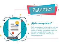 Infografía Patentes de Innovación y modelos de utilidad