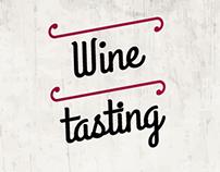 Design Gráfico//Wine tasting
