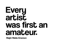 Art Quotes Typography
