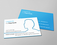 Logopeda - Speech therapist business card
