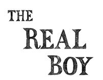 THE REAL BOY / HAND LETTERING
