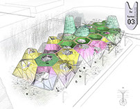 San Chinarro Market competition. 2008. Accesit.