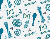 Pasta Textile Design