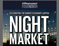 London Food Month - Night Market Newsletter