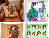 Pillow designs - Ohh Deer pillow fight competition