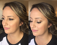 Leslie - Bridesmaid Makeup