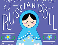 Russian Doll Lettering