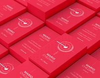 Chezare 01. Business card template