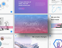 EASY - FREE MODERN KEYNOTE & POWERPOINT TEMPLATE
