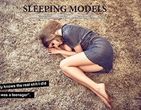sleeping models
