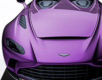 2020 Aston Martin V12 Speedster Royal Purple