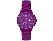 Purple Watch + case n' straps