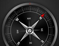 Compass Lite - Mobile App UI Design
