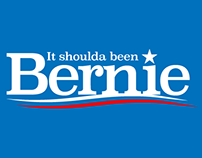 "Tshirt Design—""It Shoulda Been Bernie,"" Nov 2016"