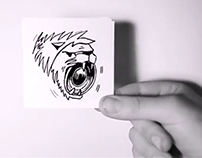 2D animation LionSound