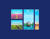 P&O Ferries – Web Banners