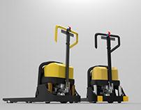 Hyster Yale Power Pallet truck body design task