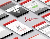 "UI&UX DESIGN ""Israel Post"" app"