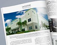 Anuncio District Report - La Cuisine International