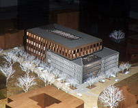Office Building model renders