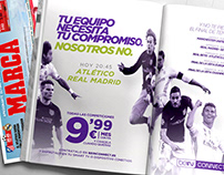 """""""Atlético - Real Madrid"""" beIN CONNECT Press Ad"""