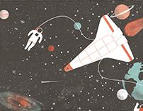 ·exploring space·
