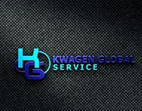 Logo Designs for Kwagen Global Service.