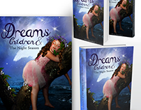 Dreams children & the night season - book cover design