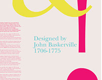 ITC New Baskerville Type Posters
