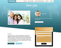 Forever Smiles Website Layout Design