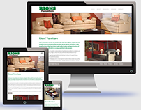Rions Furnishers - Website Design